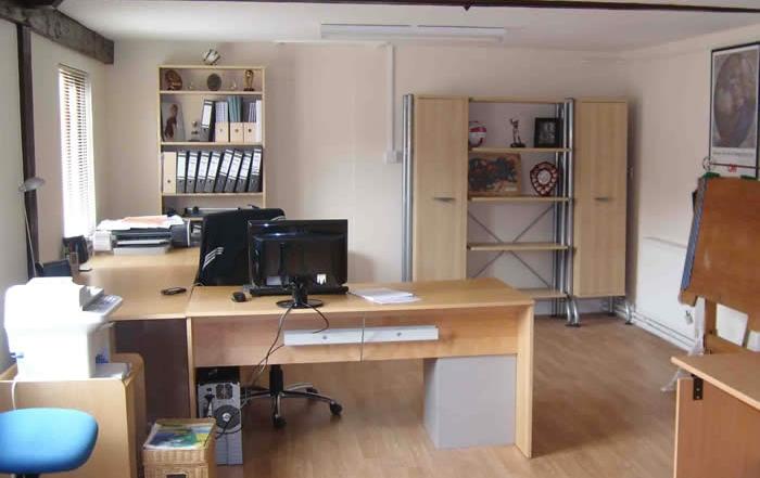 Office unit four interior