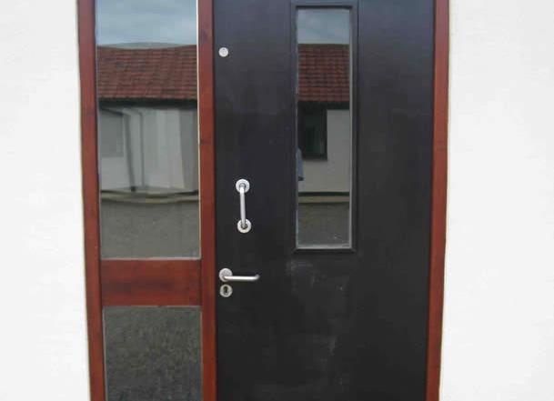 Office unit eight front door
